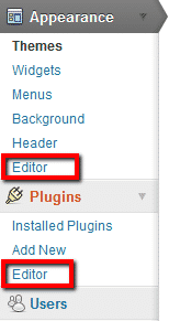 WordPress File Editor